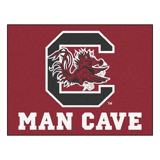 Fanmats University of South Carolina Red Nylon Man Cave Allstar Rug (2'8 x 3'8)
