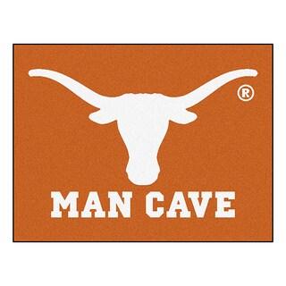 Fanmats University of Texas Orange Nylon Man Cave Allstar Rug (2'8 x 3'8)