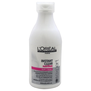 L'oreal Serie Expert Instant Clear Nutrition Anti-Dandruff 8.45-ounce Shampoo