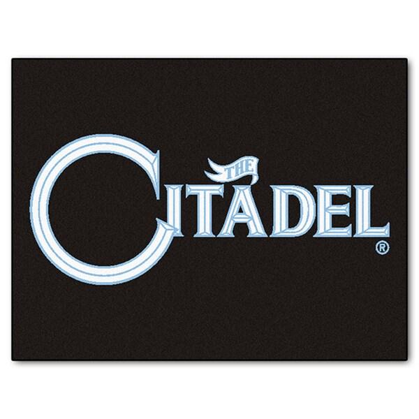 Fanmats Machine-Made The Citadel Black Nylon Allstar Rug (2'8 x 3'8)