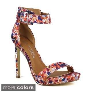 TOI ET MOI Women's Mozzarella-02 High Heel Sandal