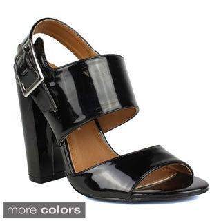 TOI ET MOI Women's Bruschette-01 Dual Strap High Heel Sandal