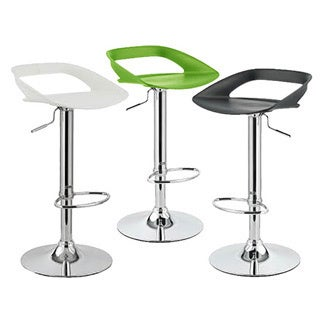 Chi Contemporary Adjustable Barstool (Set of 4)