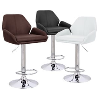 Tesla Contemporary Adjustable Barstool 15157314