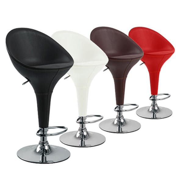 Beta Contemporary Adjustable Barstool