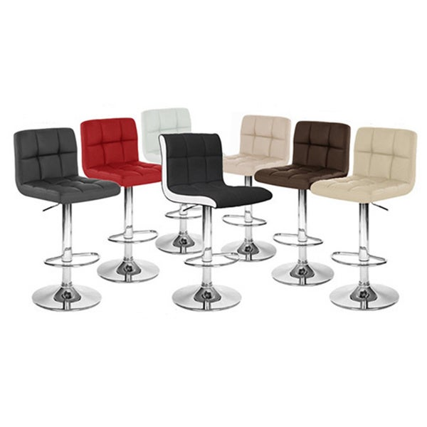 Boris Contemporary Adjustable Barstool