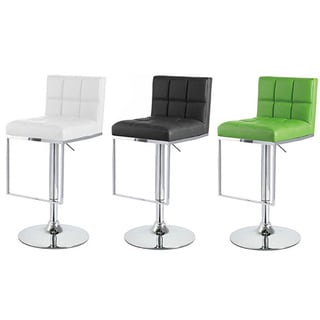 Alex Contemporary Adjustable Barstool (Set of 2)