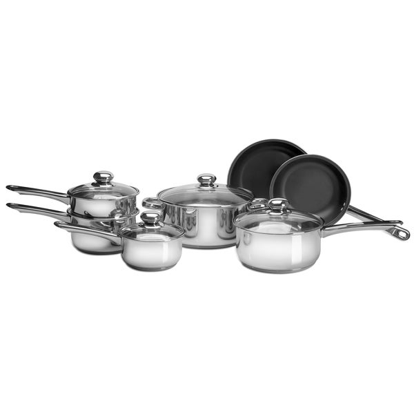 Pure Life 11pc SS Cookware