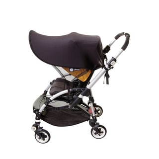 Dreambaby Large Strollerbuddy Extenda-Shade Black