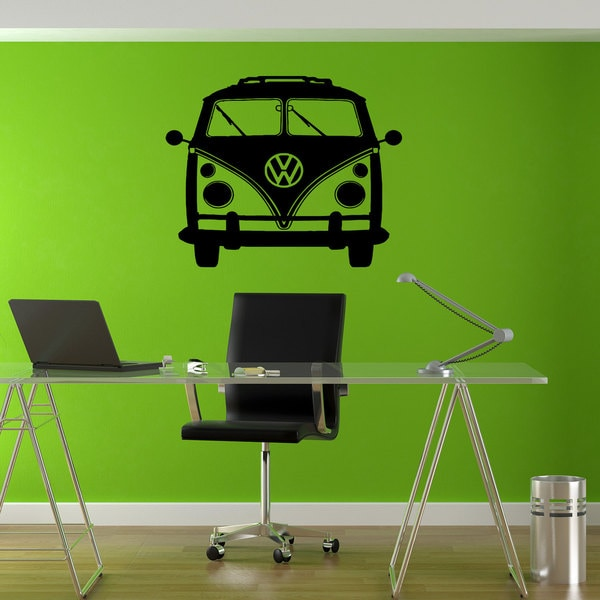 VW Bus Bulli Sticker Vinyl Wall Art