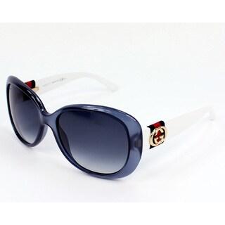 Gucci Women's 3644/S Plastic Oval Modified Sunglasses