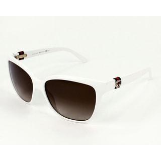 Gucci Women's 3645/S Plastic Rectangular Sunglasses