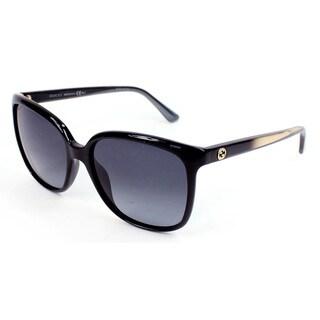 Gucci Women's 3696/S Plastic Oval Sunglasses