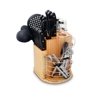 Ragalta Carousel PLCKS-200B Black 31-piece Knife Set