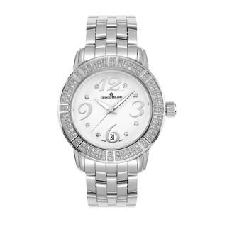 Romana by Giorgio Milano Women's Swarovski Crystal Stainless Steel Watch