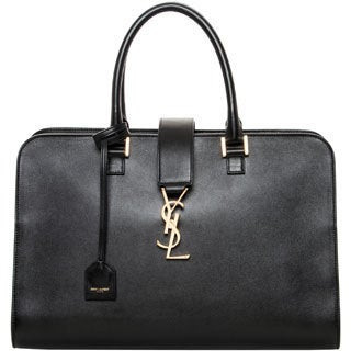 Saint Laurent Medium Cabas Monogram Satchel