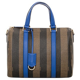 Fendi Pequin Boston Satchel