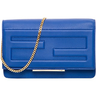 Fendi Leather Tube Clutch