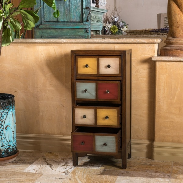 Christopher Knight Home Everest Four-Drawer Multi-Color