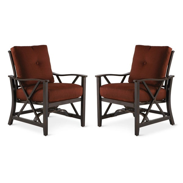Art Van Pair of Haywood Spring Chairs