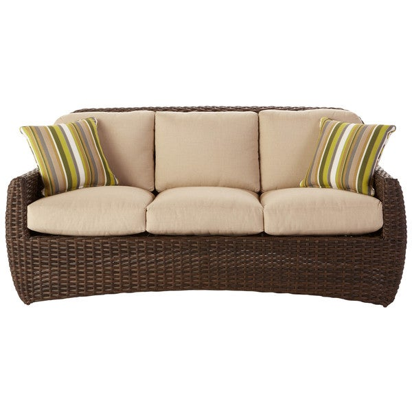 art van hudson sofa with pillows taupe 17183489. Black Bedroom Furniture Sets. Home Design Ideas