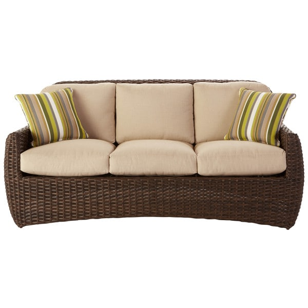 art van hudson sofa with pillows taupe 17183489 shopping big discounts on. Black Bedroom Furniture Sets. Home Design Ideas