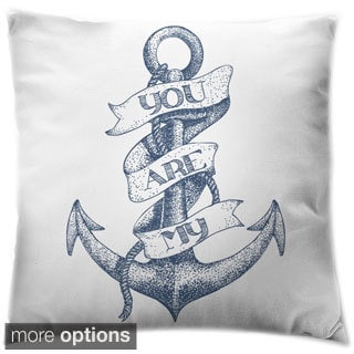 You Are My Anchor Throw Pillow