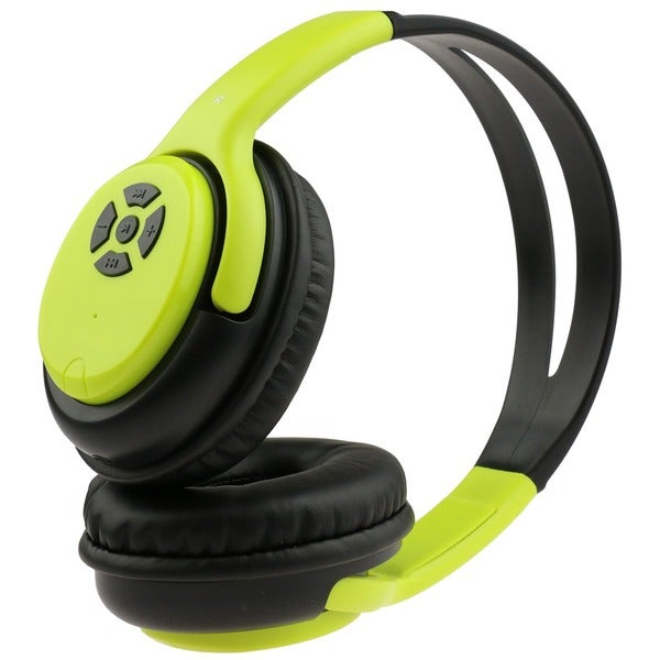 Rebelite Wireless Bluetooth Over-ear Headphones with Mic and Controls