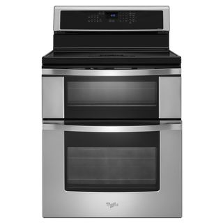 Whirlpool 30-inch Electric Induction Range with Convection Double Oven