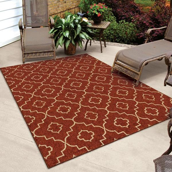 "Napa Collection Aviator Rawhide Area Rug (5'2"" x 7'6"")"