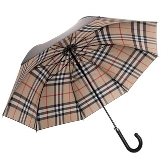 Burberry Regent Solid Check Umbrella