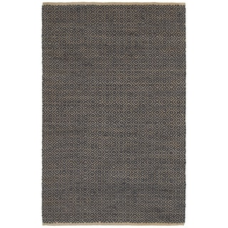 Elite Natural Fiber Indigo Braided Area Rug (9' x 12')