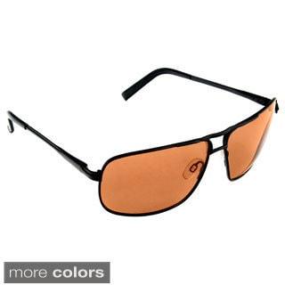 Hot Optix Mens Polarized Sport Metal Aviator Sunglasses