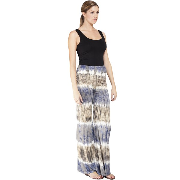 Tie-dye Stripe High Waist Lounge Pants (Nepal)