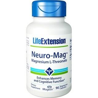 Life Extension Neuro-Mag Magnesium L-Threonate (90 Vegetarian Capsules)
