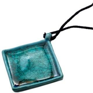 Handmade Aqua Paragon Necklace (India)