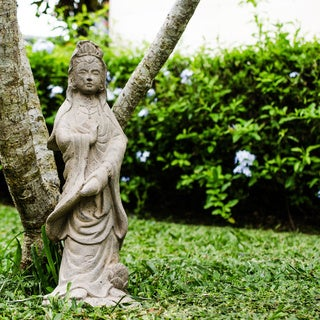 Volcanic Ash Quan Yin Statuette (Indonesia)