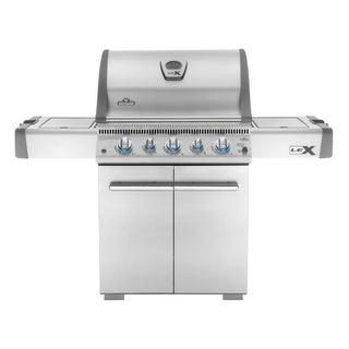 Napoleon LEX485RSIBNSS Natural Gas Grill with Rear and Side Infrared Burners