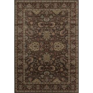 Treasures Brown/ Tan (8' x 11') Rug