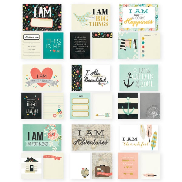 Sn@p! Double-Sided Card Pack 72/Pkg-I Am
