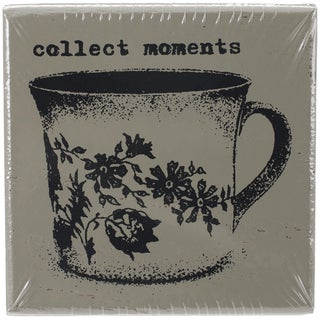 "Finnabair Wood Mounted Stamps 2""X2""-Collect Moments"