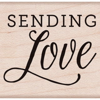 "Hero Arts Mounted Rubber Stamps 1.5""X2""-Sending Love"