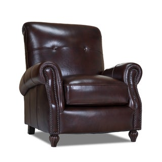 Benjamin Naples Chestnut Leather Press-back Chair