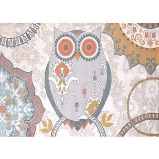 Metro Owl Area Rug (5'3 x 7'2)
