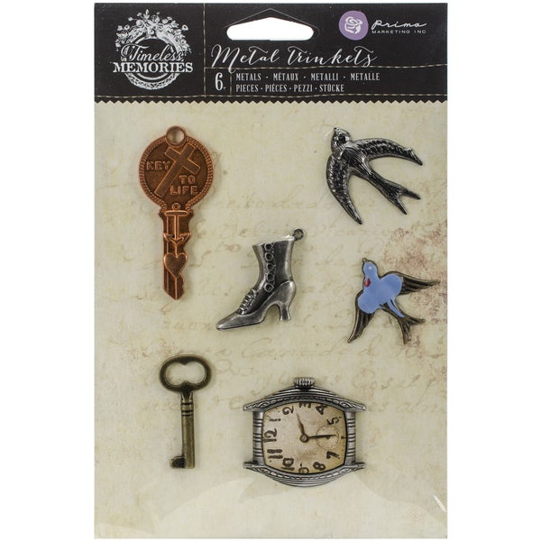 Timeless Memories Metal Trinkets-Remembrance