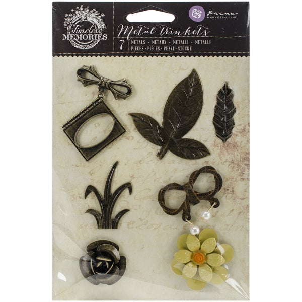Timeless Memories Metal Trinkets-Recollection