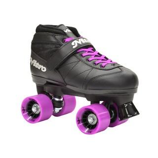 Epic Super Nitro Purple Quad Speed Roller Skates