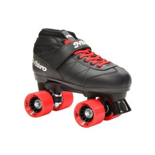 Epic Super Nitro Red Quad Speed Roller Skates