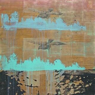 Marmont Hill Art Collective 'Gliding Augur' Canvas Art