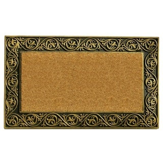 Prestige Gold Border Doormat